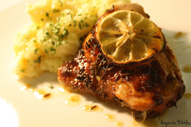 Lemon and Lavender Oven Chicken