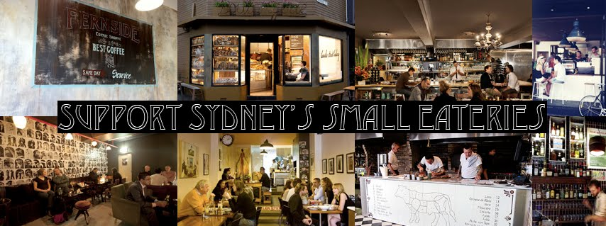Support Sydney's Small Eateries