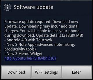 ICS 4.0 Notification Update