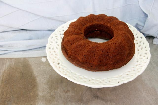 receta de bund cake de chocolate y calabacín