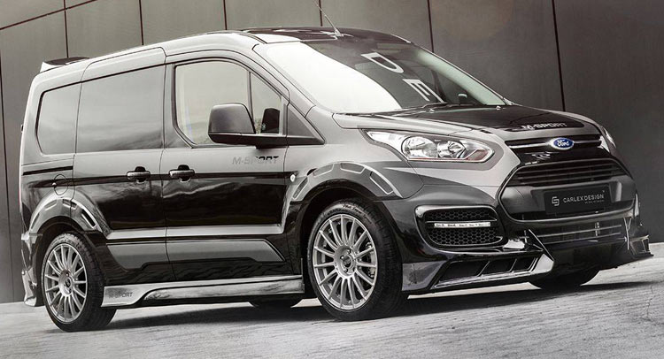 Custom 2018 F 150 >> Carscoops | Ford Transit