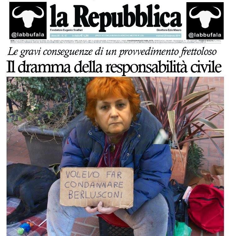 Berlusconi, Boccassini, cassazione, responsabilità civile, satira