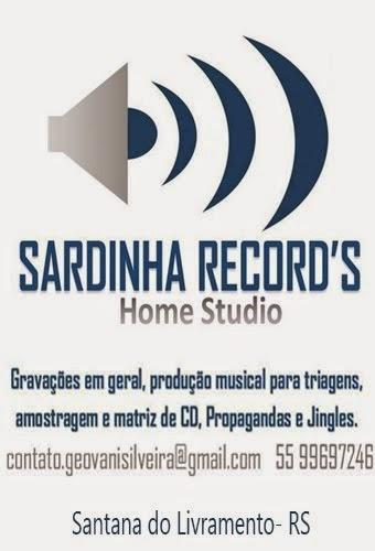 Estúdio de Gravação - Sardinha Records - Livramento