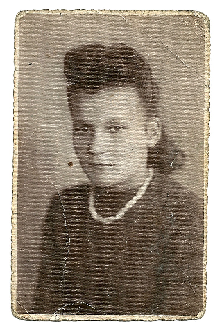 Stare zdjęcie. Portret kobiety. Dzień kobiet.