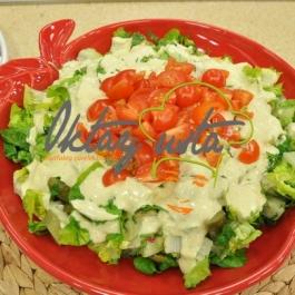 Krem Soslu Kereviz Salatası Tarifi