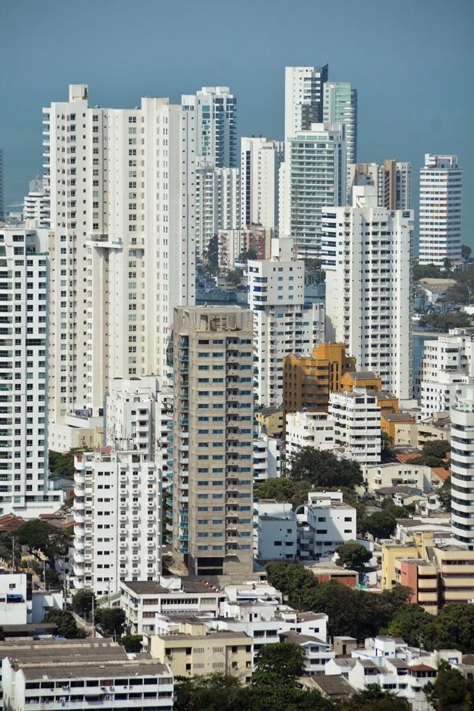 Cartagena Popa Hill skyscrapers