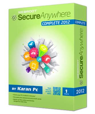 Webroot SecureAnywhere Complete 2012 Full With Crack+Serial