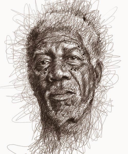 04-Morgan-Freeman-Malaysian-Artist-Vince-Low-Scribble-Dyslexia-www-designstack-co