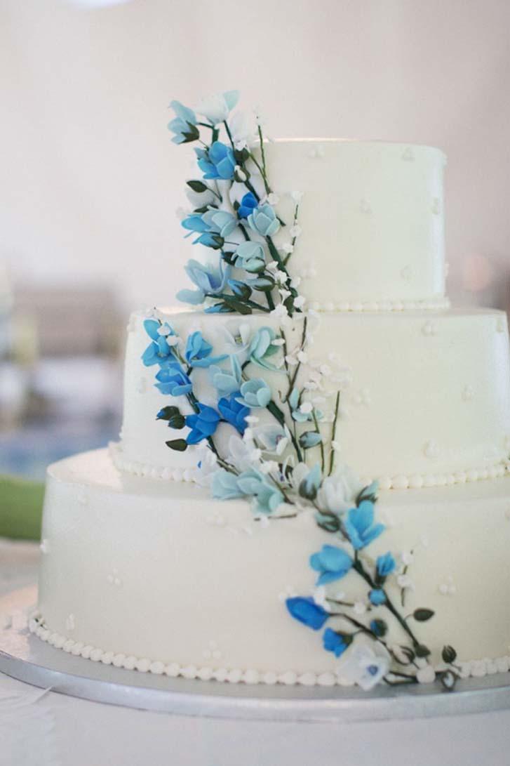 Торты на сапфировую свадьбу фото