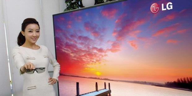 LG Launches Ultra-Definition TV World`s Largest