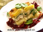 Zapekaná tilapia so špenátom a zemiakmi - recept