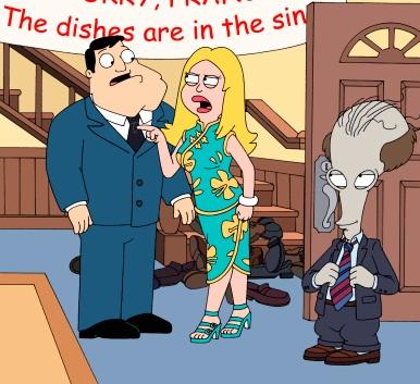 Комикс американский папаша