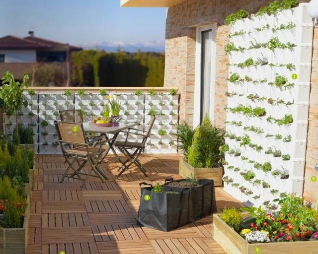 Fachadas y jardines verticales el espacio mejor - Leroy merlin jardin vertical besancon ...