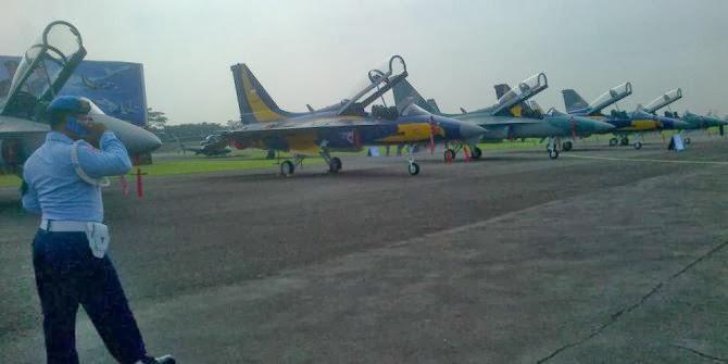 Menhan serahkan 16 pesawat T-50i Golden Eagle pada TNI AU