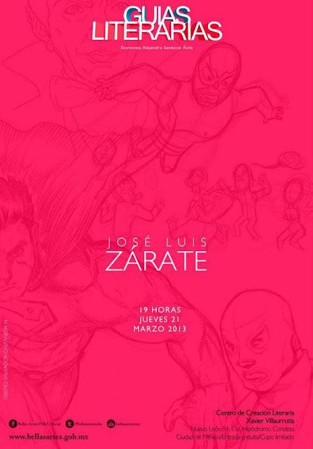"""El ciclo """"Guías Literarias"""" continúa con la ciencia ficción de José Luis Zárate"""
