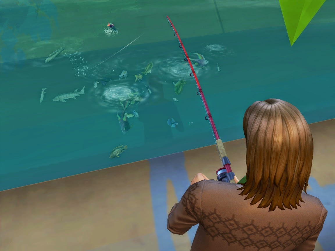 My sims 4 blog all fish available at fishing spots by for Sims 4 fishing