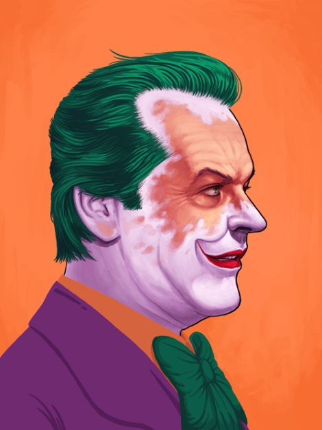 The Joker by Mike Mitchell