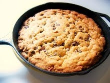 Bake This: My Cast Iron Skillet Cookie