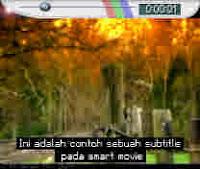 menampilkan subtitle pada smartmovie