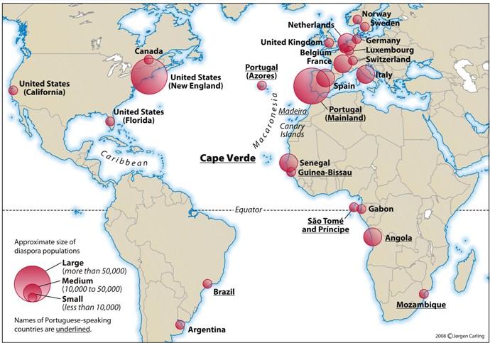 Foam Around the World: Country #7: Cape Verde