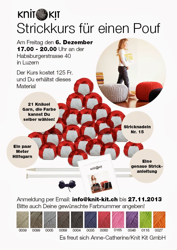 knit kit einladung zum pouf strickkurs mit anne catherine l ke. Black Bedroom Furniture Sets. Home Design Ideas