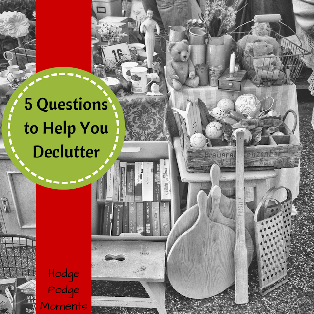Five Questions to Help You Declutter