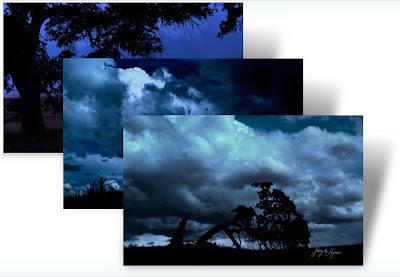 karanlık tema, karanlık manzara tema,