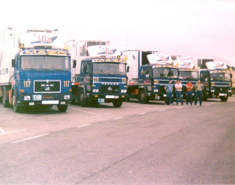 Camiones de canarias grupo mazo for Empresas de transporte en tenerife