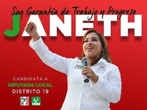 Janeth García Cruz, primera candidata en aceptar el debate organizado por el OPLE