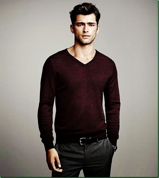 GREY COLOUR PANTS MAROON SWEATER COMBINATION FOR MEN - Menu0026#39;s Clothing Colour Combinations Menu0026#39;s ...