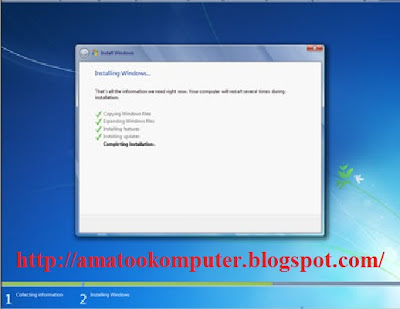 Cara Instal Windows 7 Lengkap 1, Windows 7, Tips Komputer 13