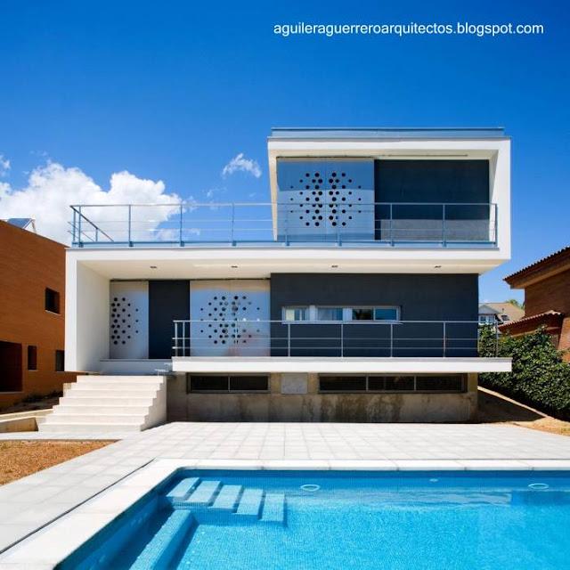 Casa residencial contemporánea en España