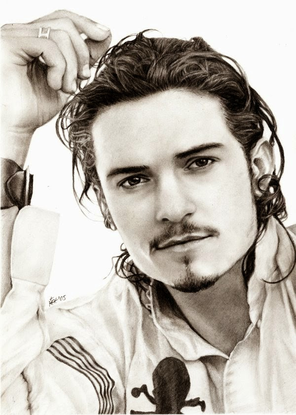 13-Orlando-Bloom-Kanisa-A-Lilith-Drawings-of-Actors-&-Celebrities-www-designstack-co