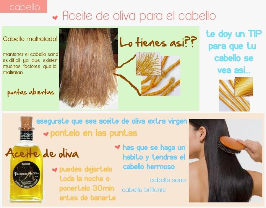 Remedios caseros con aceite de oliva para el cabello