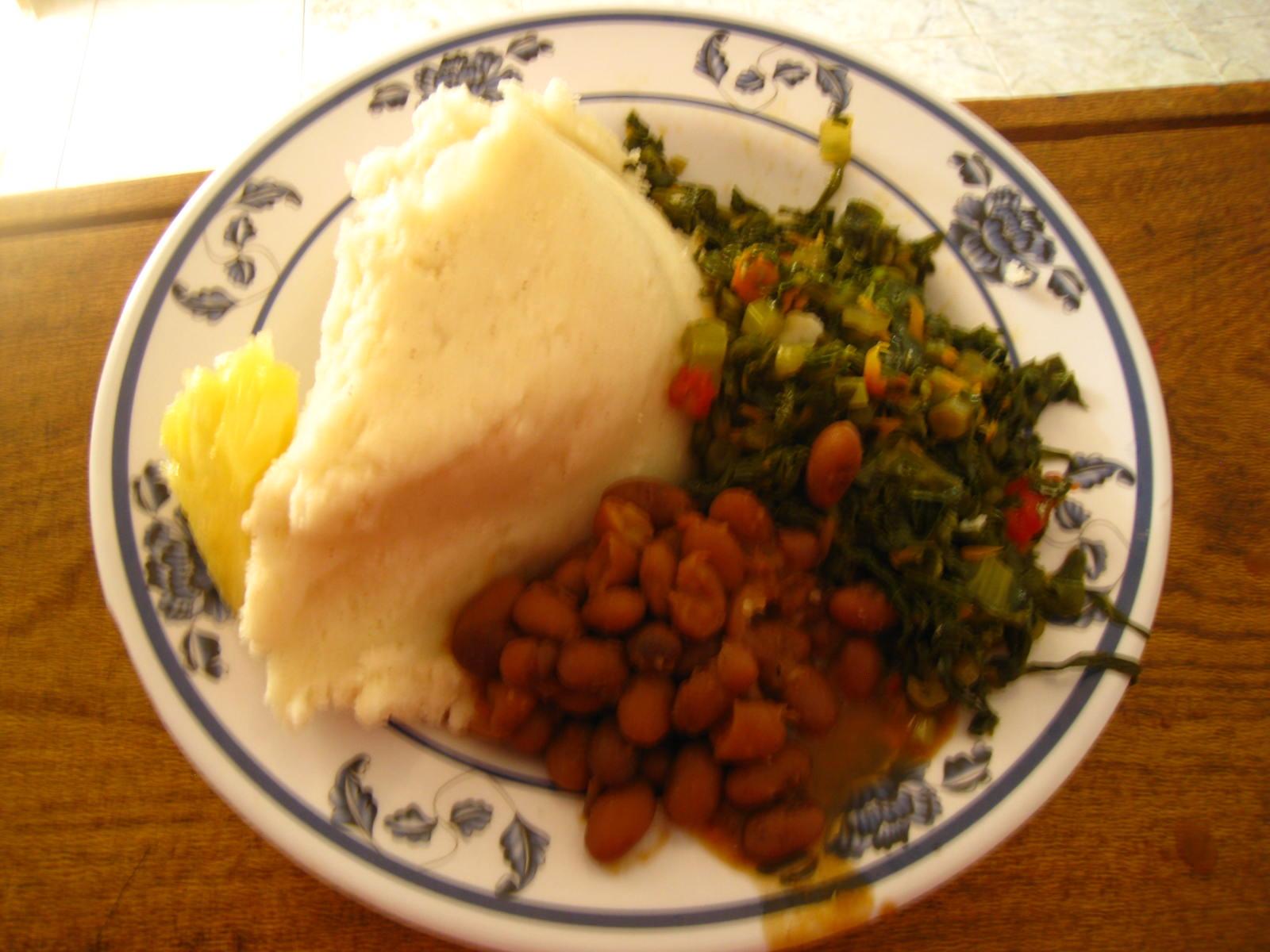 how to make ugali and sukuma