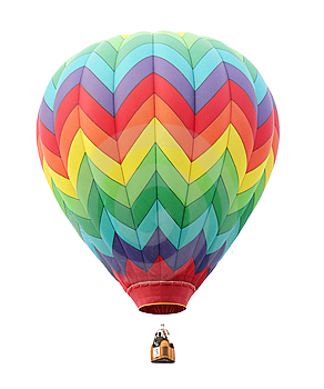 Old Lady In The Shoe Hot Air Balloon