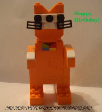Poppy Cat, Lego Creation