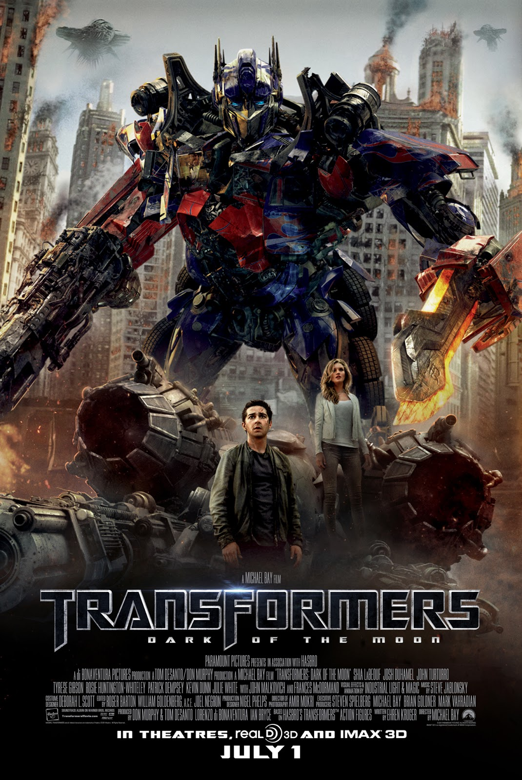 Transformers: Dark of the Moon 2011