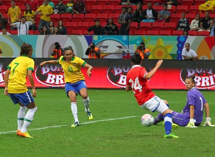 09caead7a6 Brasil estreia com vitória no Torneio Internacional