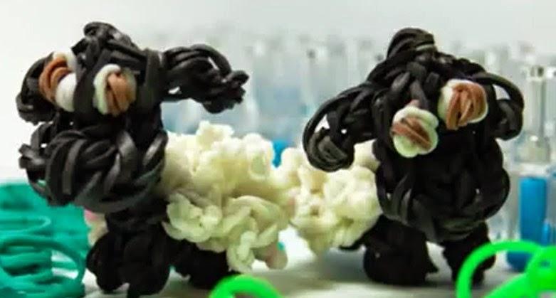 Como hacer la oveja Shaun con gomitas
