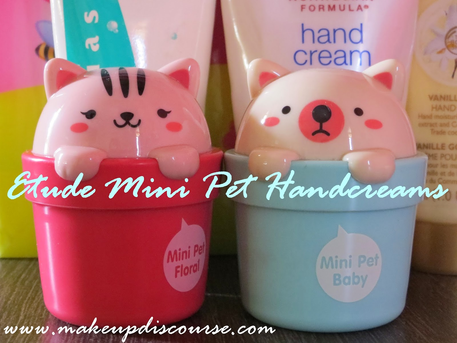 Etude House Mini Pet Handcreams in India