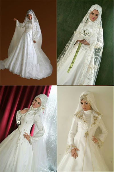 Wedding Dress with Hijab