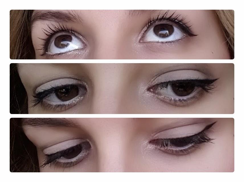 endlessharing, Blog'da İki Ürün Maybelline Jel Eyeliner-Flormar Far