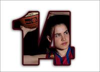 Barça-CBSantfeliuenc A (2010-2011): 14 Julia