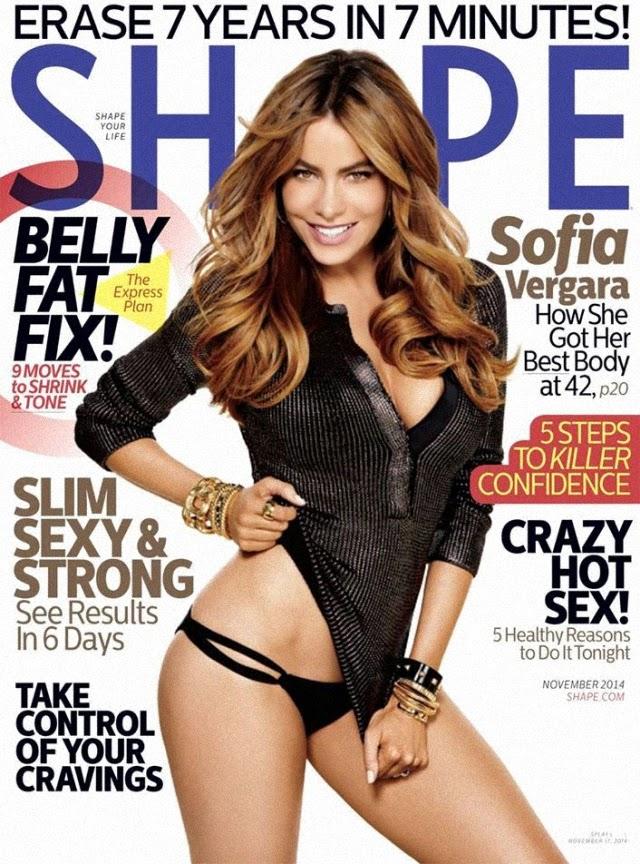 Sofía Vergara en Shape Magazine