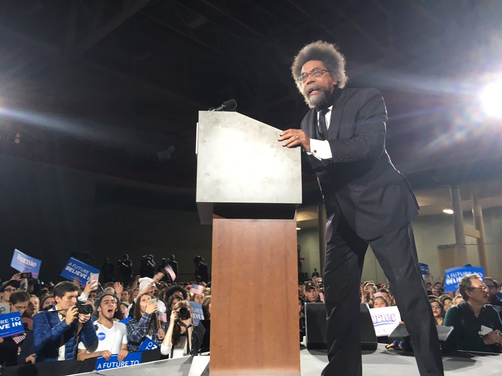 "<b><a href=""http://BernieSanders.com/"">Cornel West Fired Up For Bernie!</a></b>"
