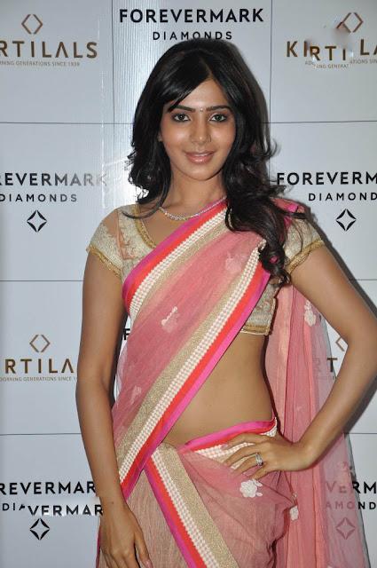 Samantha Ruth Prabhu In Saree Photo & Wallpaper