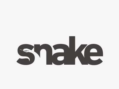 Ejemplo de logos espacio negativo