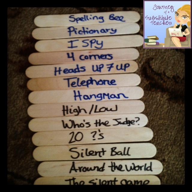 Quick Classroom Ideas : Quick time filler math game journey of a substitute teacher