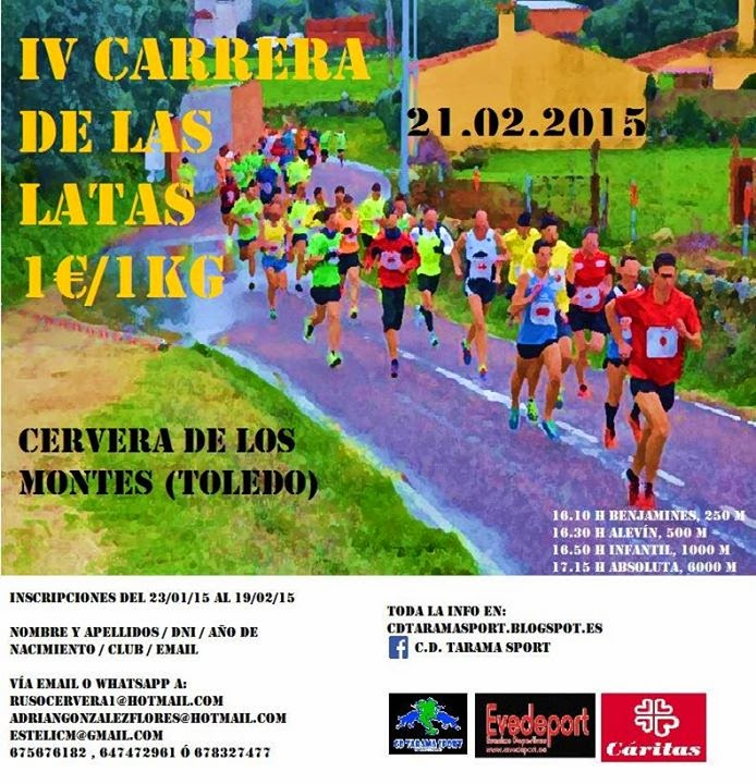 IV Carrera de Las Latas, de Cervera de los Montes